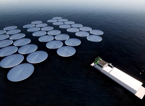 MWP & Ocean Sun Joining Floating Sea Water Desalination with Floating Solar Power